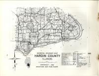 Map Image 007, Hardin County 1962